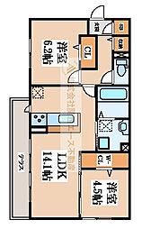 仮称)D-room陵南町[2階]の間取り