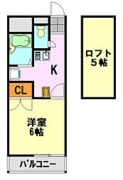 メゾン ド アンジュ[2階]の間取り