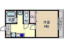 グランドシャトー2[3階]の間取り