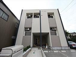 愛知県名古屋市中村区中村町7丁目の賃貸アパートの外観