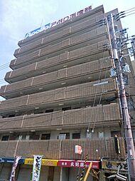 大阪府大阪市東住吉区杭全6丁目の賃貸マンションの外観