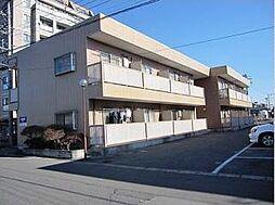 栃木県宇都宮市川田町の賃貸アパートの外観