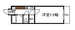 ベルトピア宮崎10[ 204号号室]の間取り