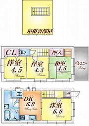 [一戸建] 兵庫県神戸市長田区久保町9丁目 の賃貸【/】の間取り