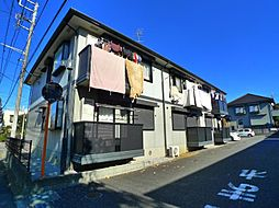 千葉県松戸市小金原3の賃貸アパートの外観