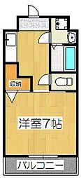 スカイ・エース・ダイガ[3階]の間取り
