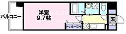 リヴ・フィールド・京美[303号室号室]の間取り