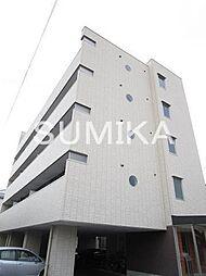 岡山県岡山市北区大元上町の賃貸マンションの外観