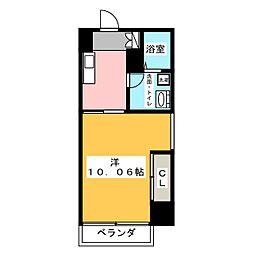 グランデ浅間町[2階]の間取り