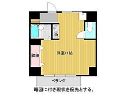 愛知県名古屋市千種区末盛通3丁目の賃貸マンションの間取り