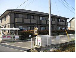 山梨県甲斐市西八幡の賃貸アパートの外観