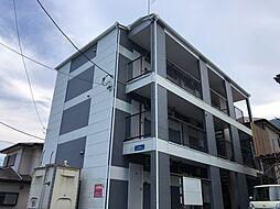 神奈川県愛甲郡愛川町半原の賃貸アパートの外観