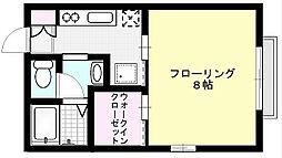 ウィズダム[203号室]の間取り