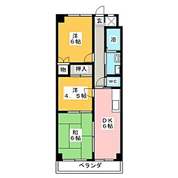 アトレT[3階]の間取り