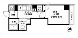 JR京浜東北・根岸線 大森駅 徒歩5分の賃貸マンション 3階1LDKの間取り