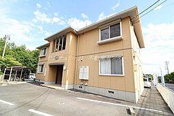 岡山県岡山市北区佐山の賃貸アパートの外観