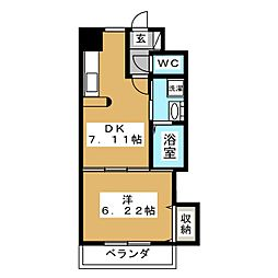 MSKコート[2階]の間取り
