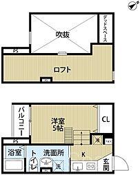 ウィステリアージュ堺東[1階]の間取り