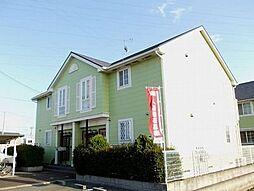 兵庫県姫路市飾磨区中島1丁目の賃貸アパートの外観