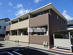 静岡県静岡市葵区瀬名中央2丁目の賃貸アパートの外観