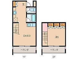 VERRI[1階]の間取り