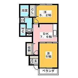 イン コンター[1階]の間取り