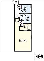 Branche千代田[3階]の間取り