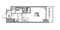 サムティ本町橋IIMEDIUS(メディアス)[2階]の間取り