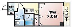 インペリアル篠原[3階]の間取り