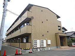 広島県福山市西新涯町1の賃貸アパートの外観