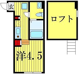 (仮称)鎌倉4丁目コーポA[2階]の間取り