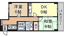 ドルチェ椥辻[507号室号室]の間取り