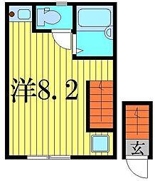 アルファアーチII[2階]の間取り