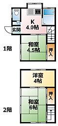 [テラスハウス] 千葉県大網白里市駒込 の賃貸【千葉県 / 大網白里市】の間取り