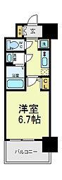 大阪府大阪市阿倍野区松崎町3丁目の賃貸マンションの間取り