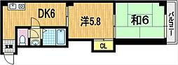 澤屋ビル[3階]の間取り