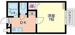 神奈川県鎌倉市大船3丁目の賃貸アパートの間取り