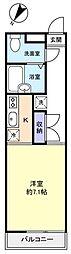CASA−FRONTIER[1階]の間取り