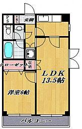 ELM-K9[102号室号室]の間取り