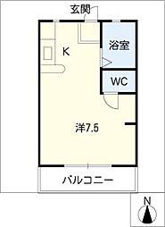 こーぽ すぬーぴー[2階]の間取り