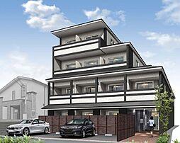 京都府京都市上京区十念寺前町の賃貸マンションの外観