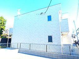 千葉県市川市中山4丁目の賃貸アパートの外観
