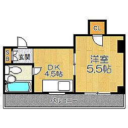 大垣ビル[4階]の間取り