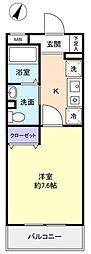 サニーコート万寿[2階]の間取り
