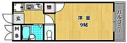 マンションファミーユ[1階]の間取り