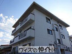群馬県高崎市岩押町の賃貸マンションの外観