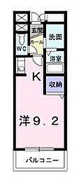 ユタカビル[3階]の間取り