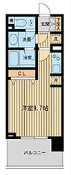 ダフィット横濱台町[11階]の間取り