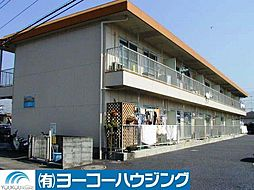東京都あきる野市小川東1丁目の賃貸アパートの外観