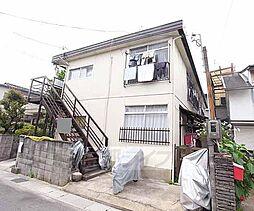 京都府城陽市平川の賃貸アパートの外観